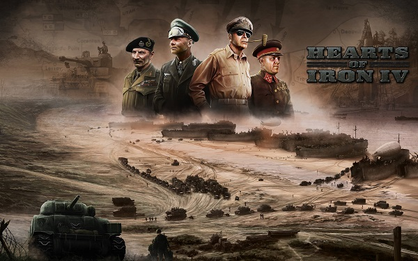 games like Hearts of Iron IV