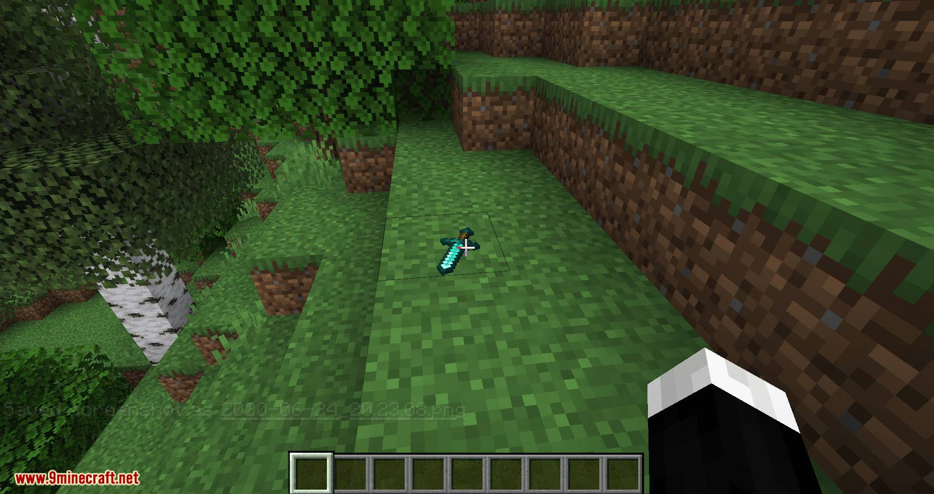 Better Dropped Items mod for minecraft 02