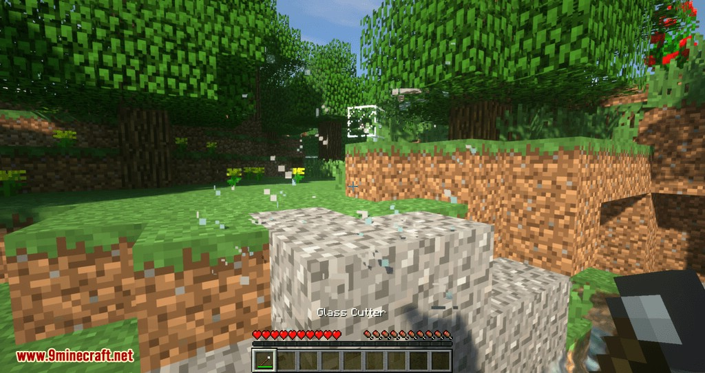 Glassential mod for minecraft 02