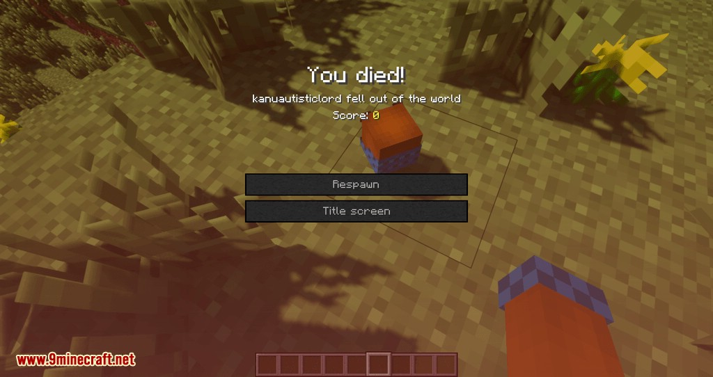 Just Player Head mod for minecraft 01