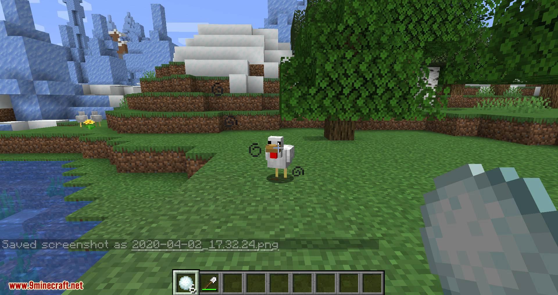 Snowballs Freeze Mobs mod for minecraft 11