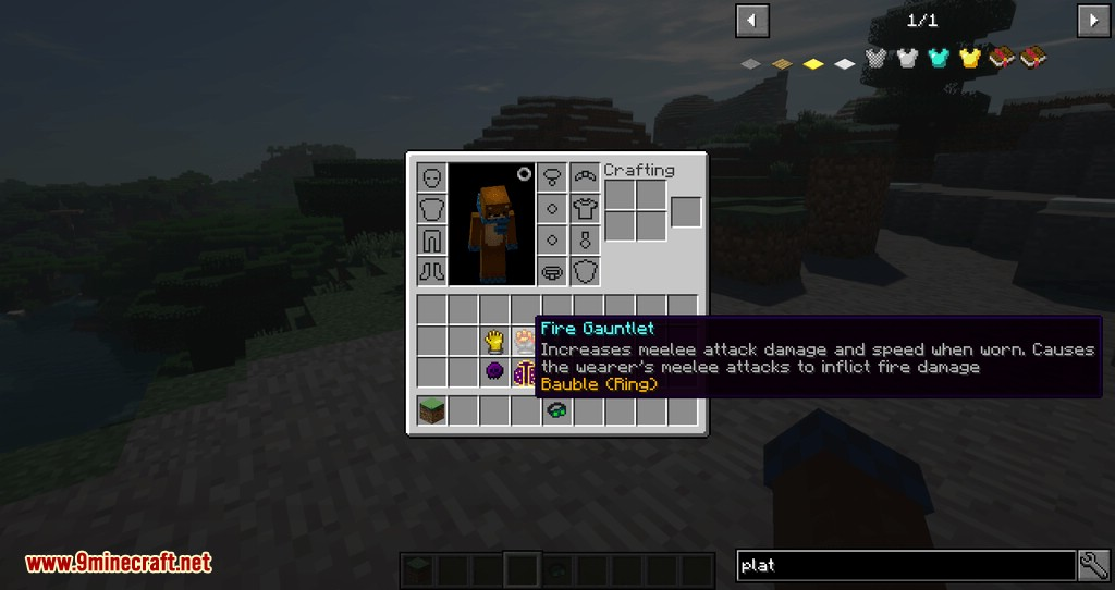 Artifacts mod for minecraft 02