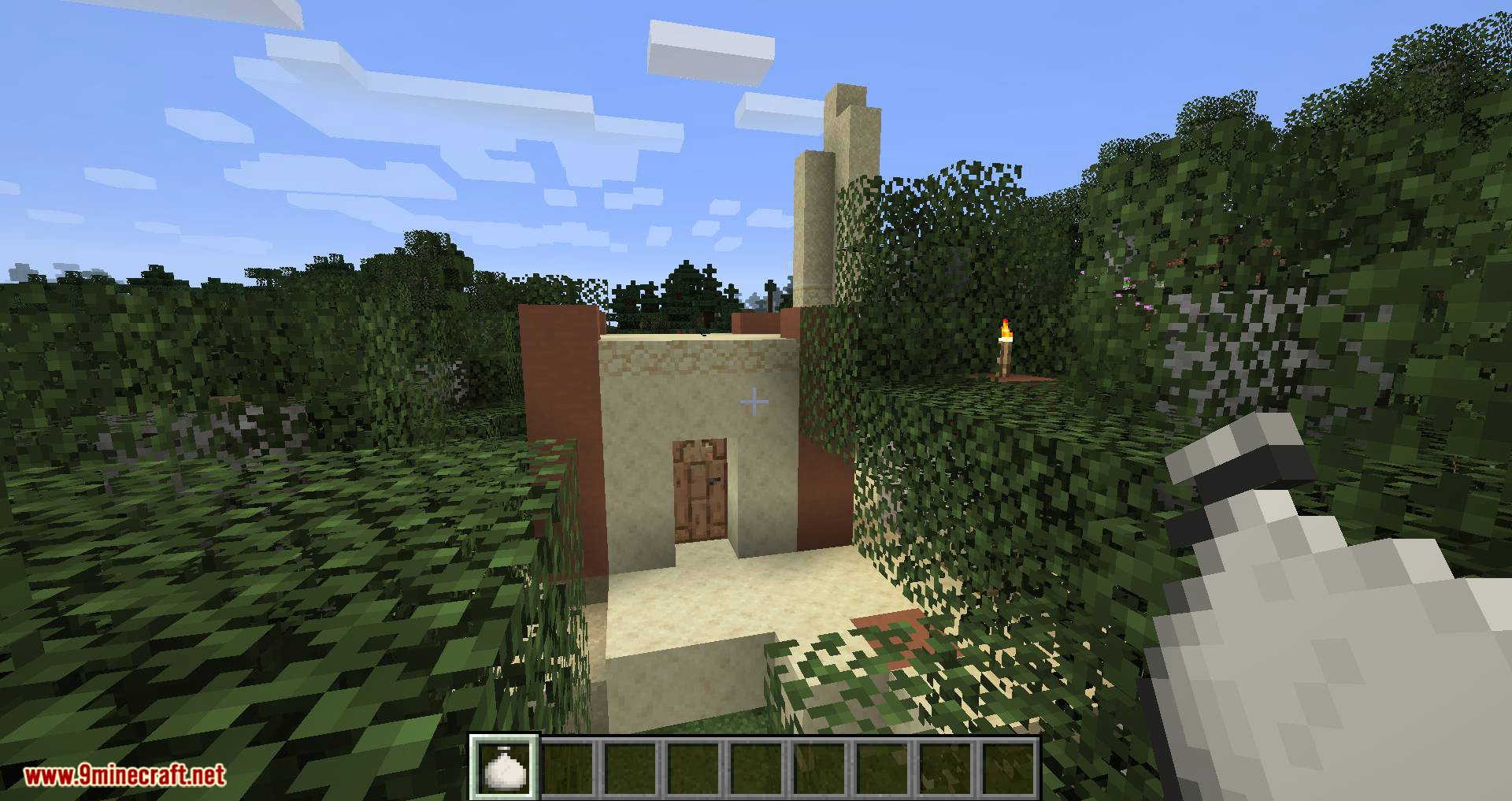 Bag of Yurting mod for minecraft 11