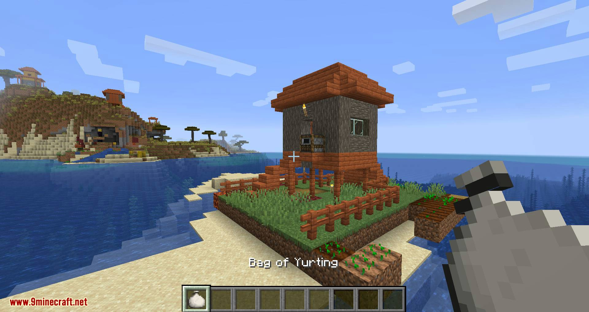 Bag of Yurting mod for minecraft 13