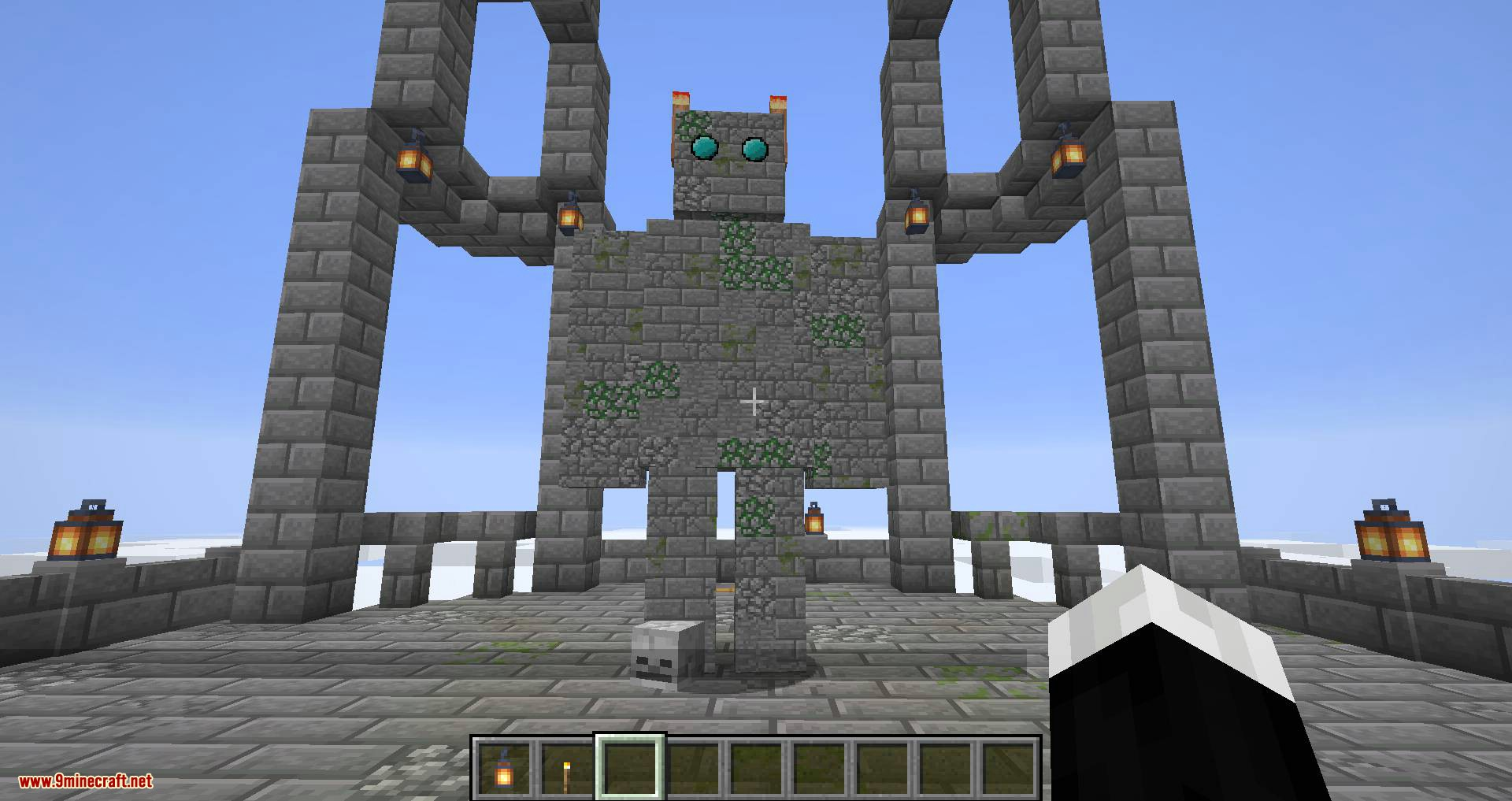 Draylar_s Battle Towers mod for minecraft 13
