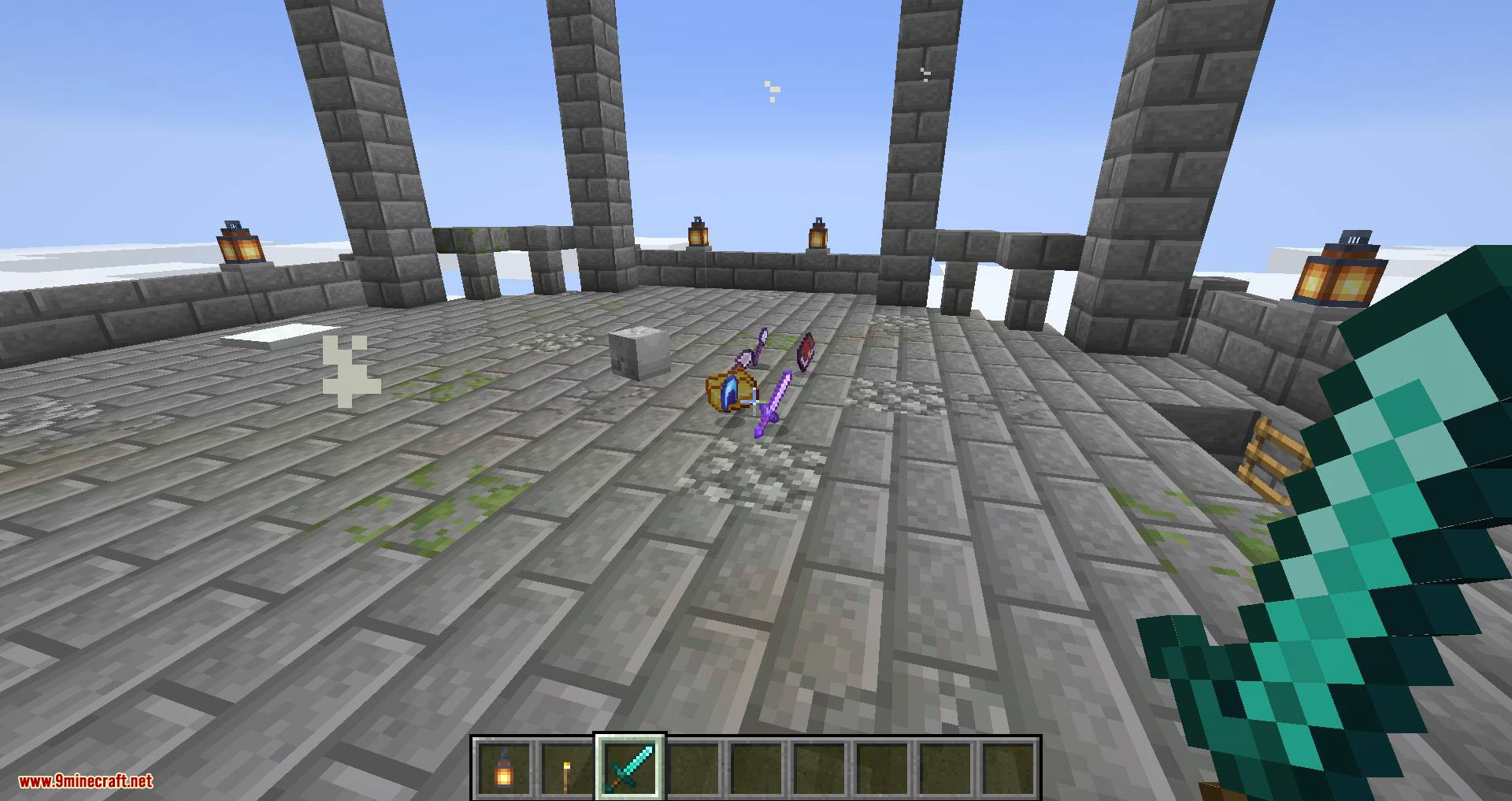 Draylar_s Battle Towers mod for minecraft 14