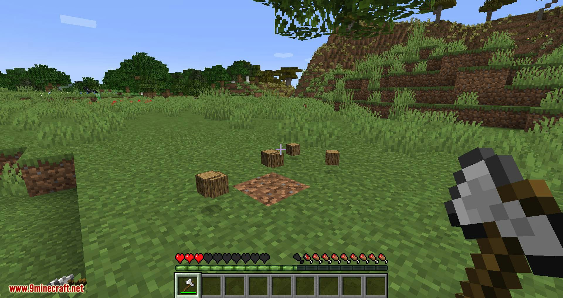 Falling Tree mod for minecraft 04