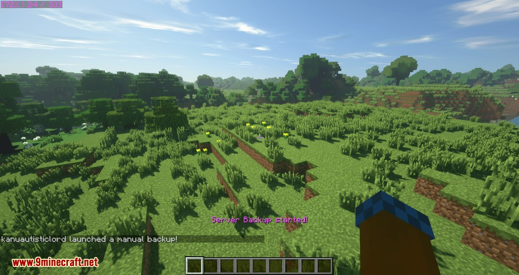 FTB Utilities Backups mod for minecraft 04