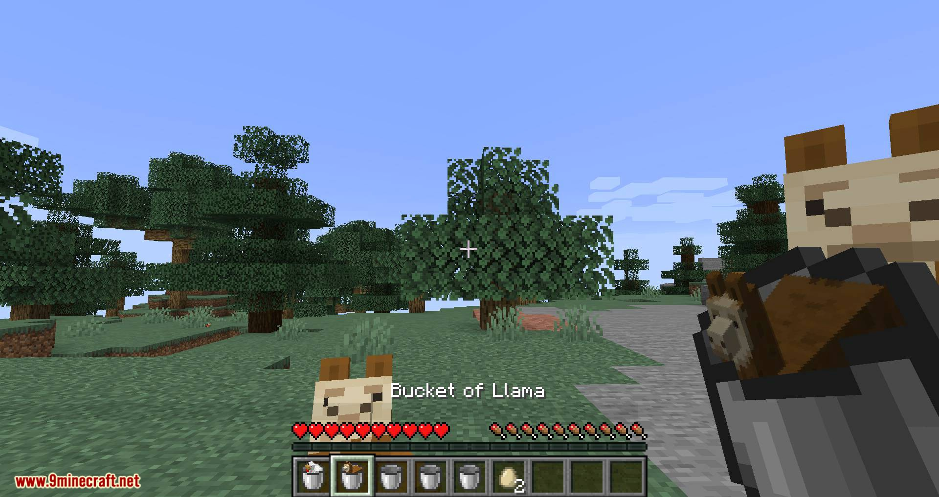 Get in the Bucket mod for minecraft 03