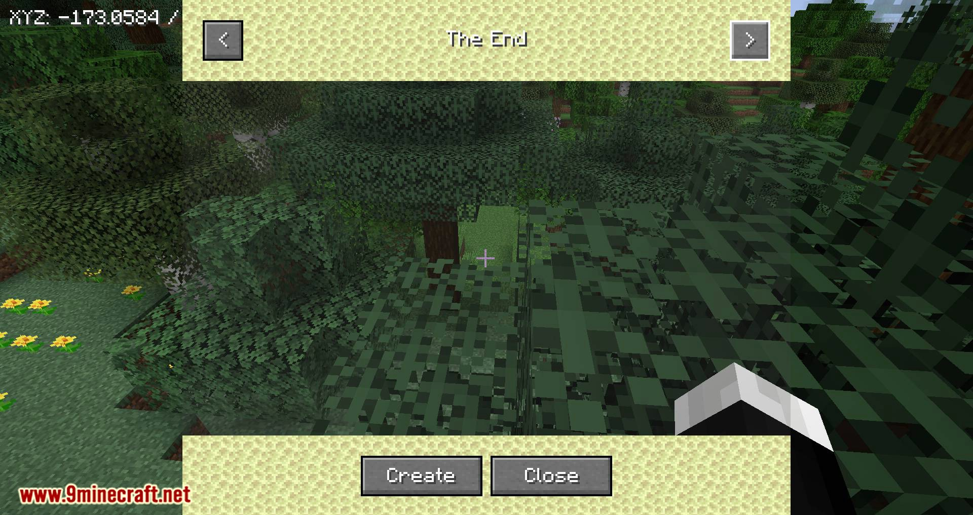 Just Map mod for minecraft 05
