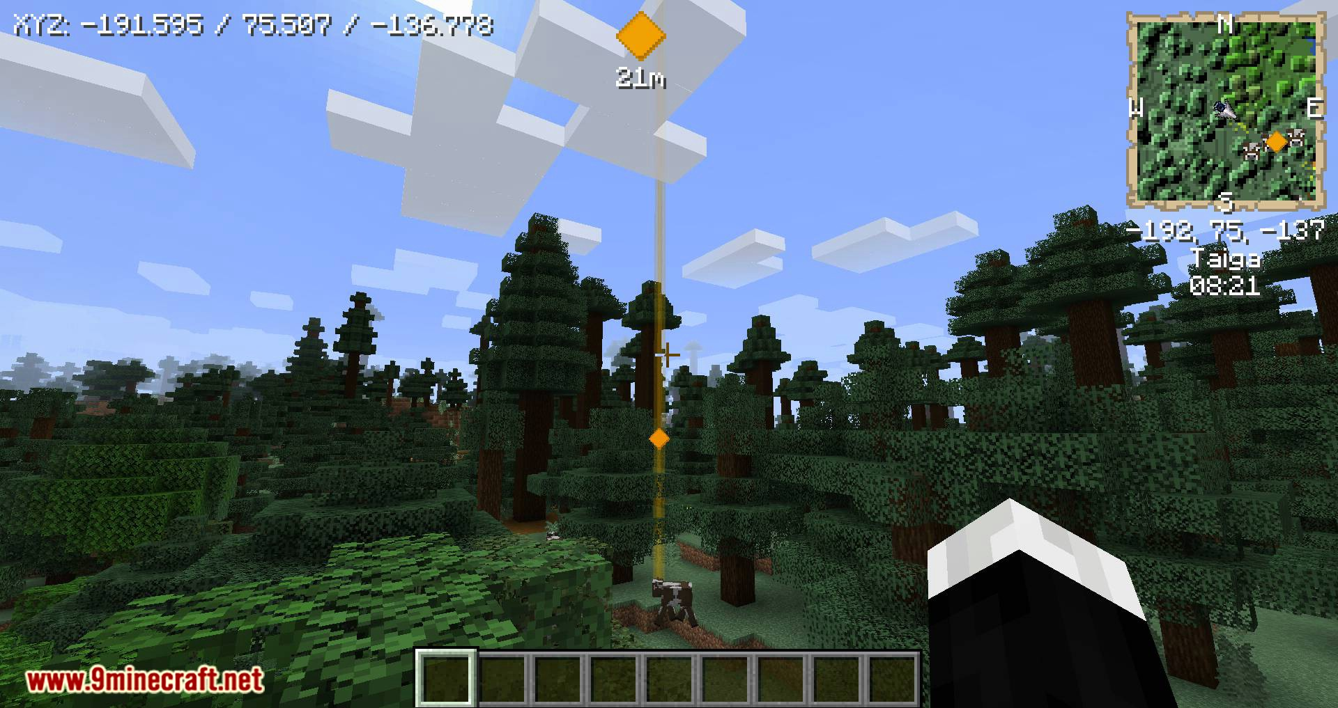 Just Map mod for minecraft 06