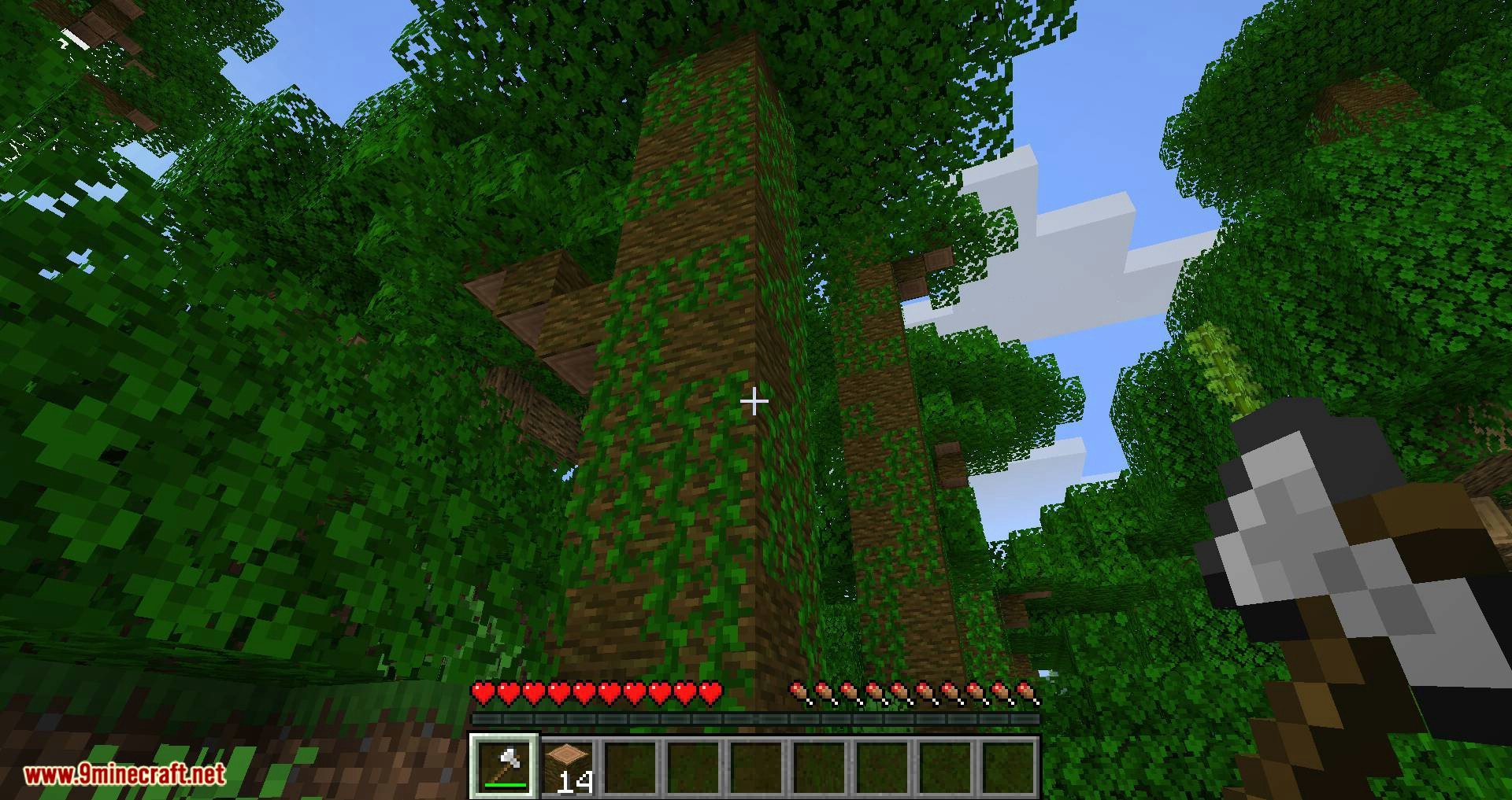 pizzaatime_s Timber Mod for minecraft 05