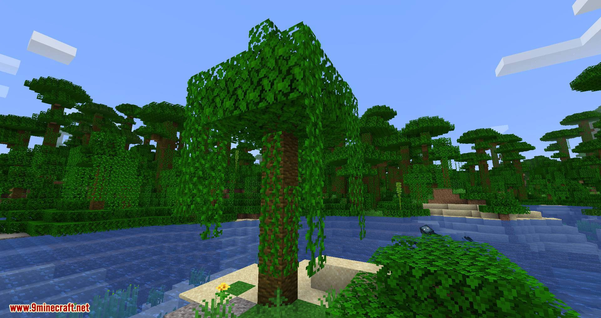 pizzaatime_s Timber Mod for minecraft 01