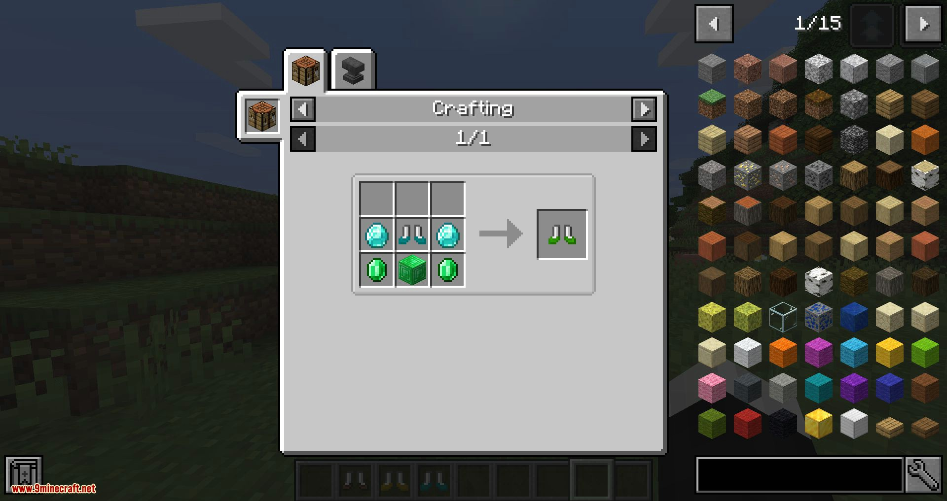 Traveller_s Boots mod for minecraft 09