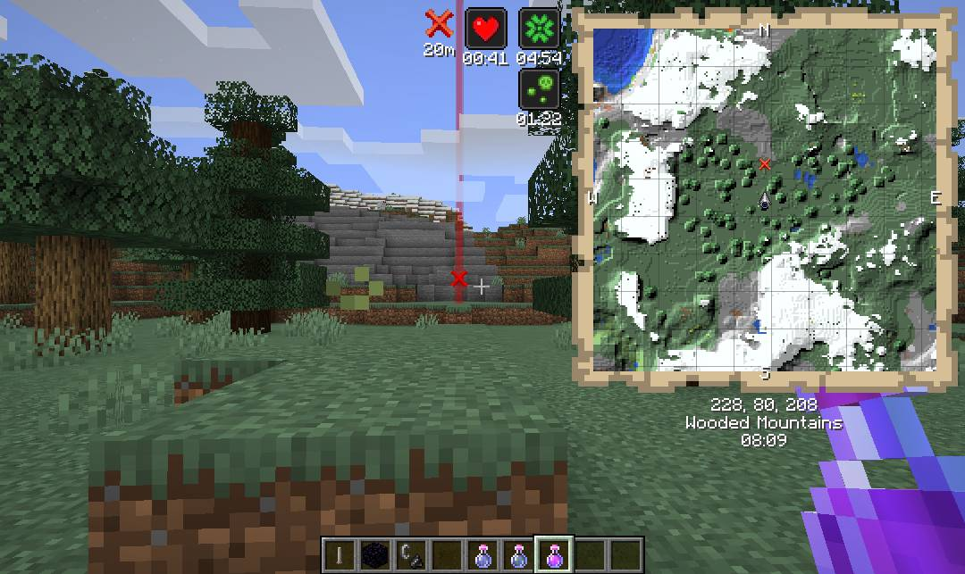 Just Map mod for minecraft 28