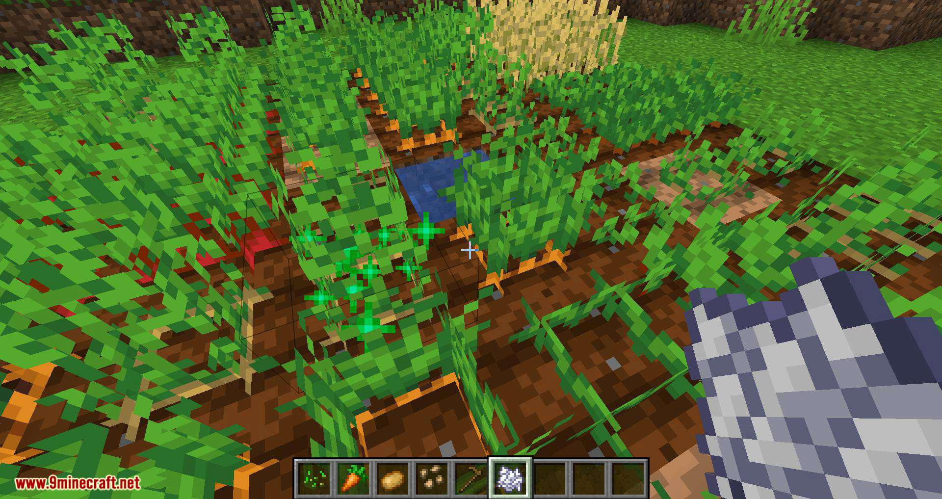 Replanting Crops mod for minecraft 03