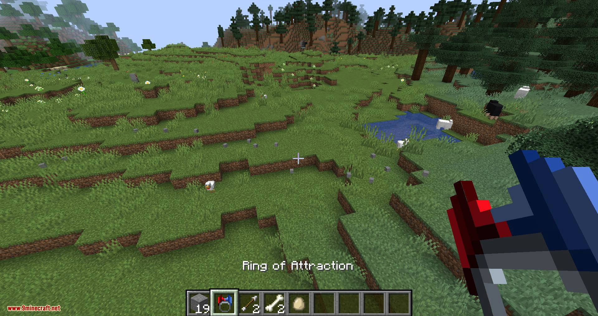 Ring of Attraction mod for minecraft 03