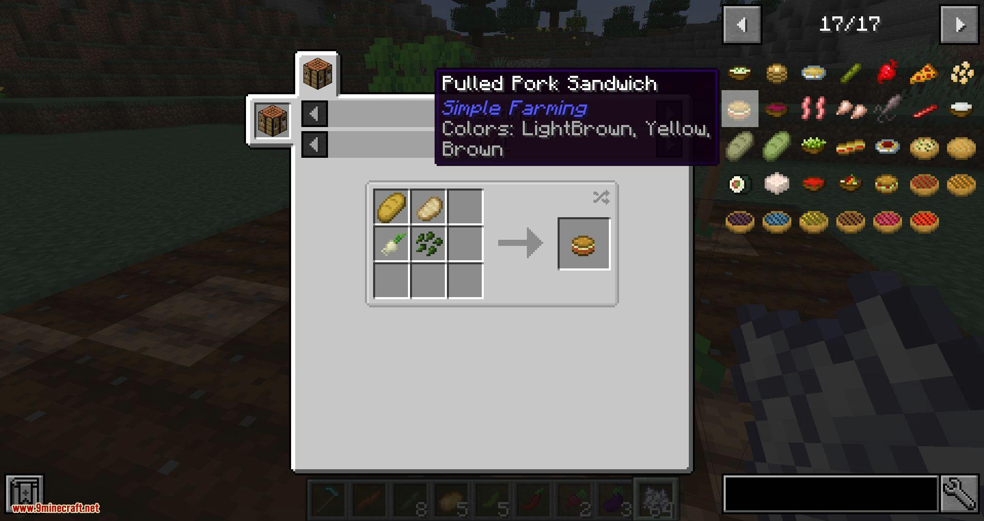 Simple Farming mod for minecraft 13
