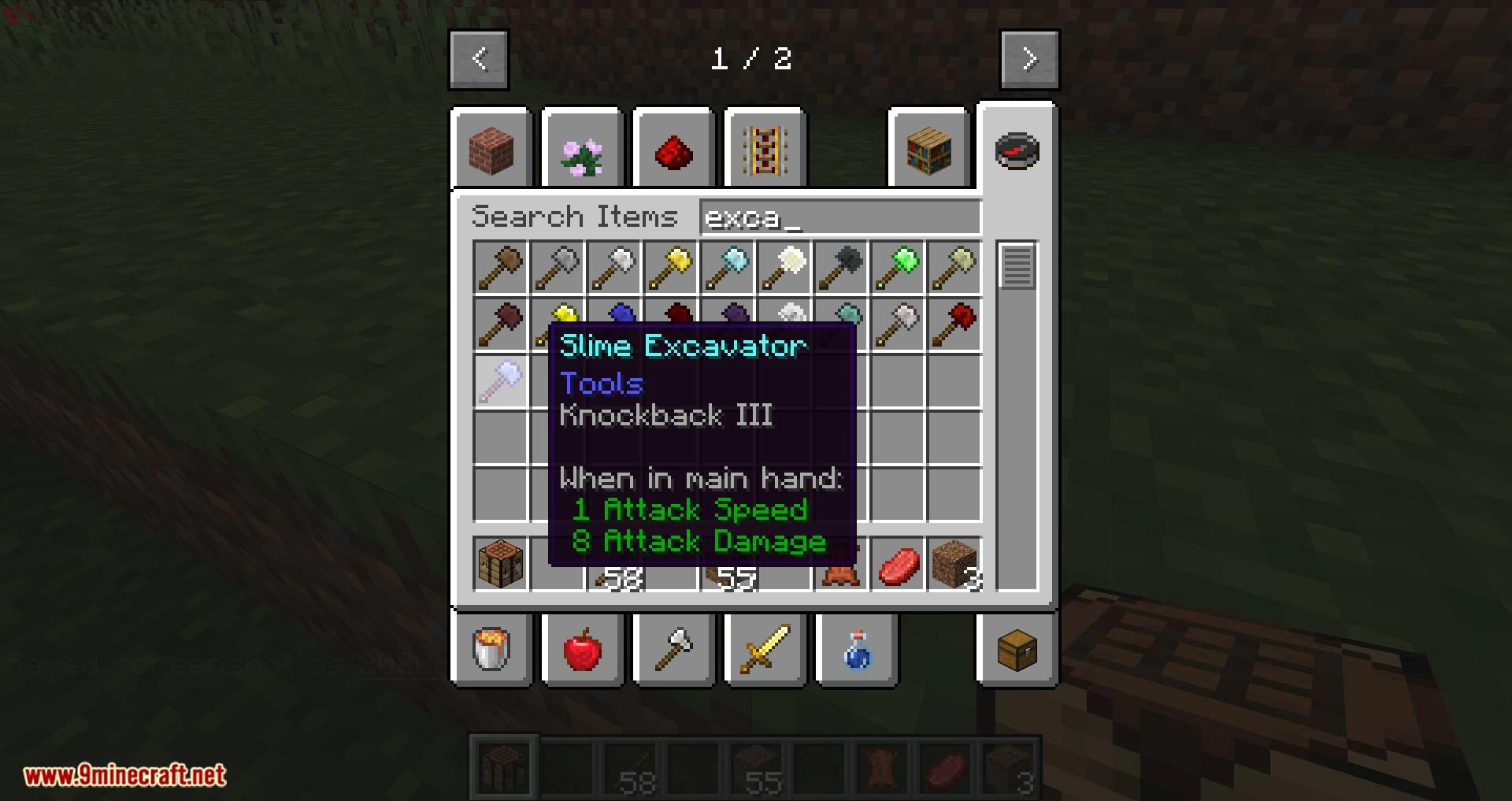 Vanilla Excavators mod for minecraft 07