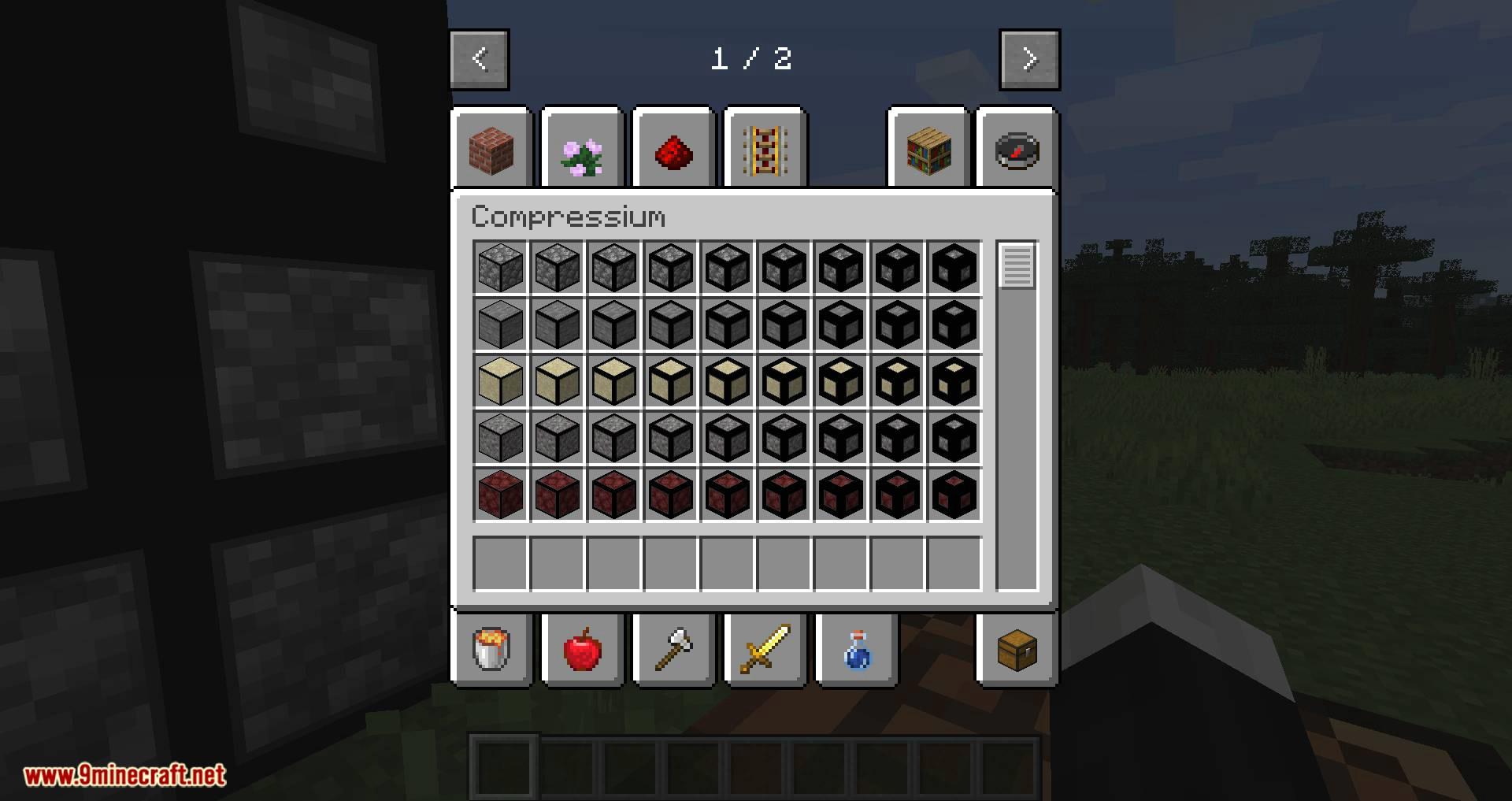 Compressium mod for minecraft 08