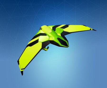 Fortnite Green Eagle Glider - Full list of cosmetics : Fortnite Impact Set   Fortnite skins.