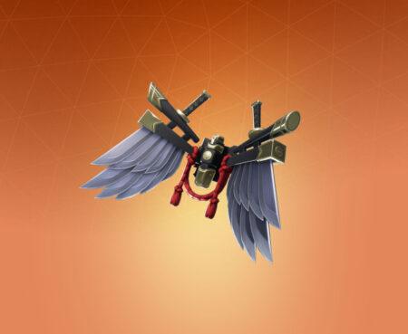 Fortnite Bladed Wings Back Bling - Full list of cosmetics : Fortnite Shogun Set | Fortnite skins.