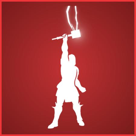 Fortnite God of Thunder Emote - Full list of cosmetics : Fortnite Thor Set | Fortnite skins.