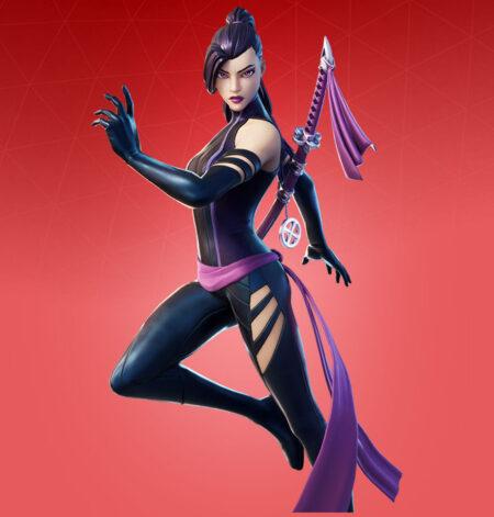Fortnite Psylocke Skin - Full list of cosmetics : Fortnite X Force Set   Fortnite skins.