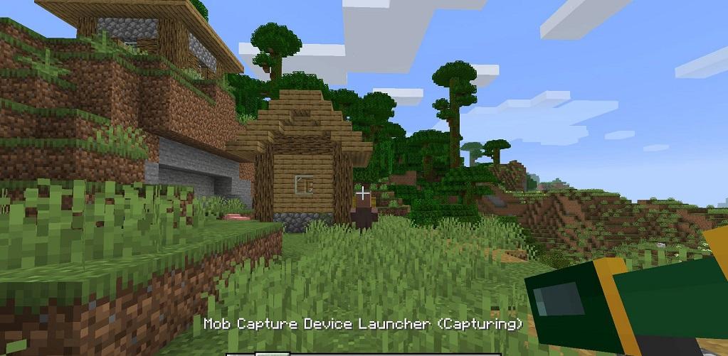 Minecraft Mob Catcher Mod