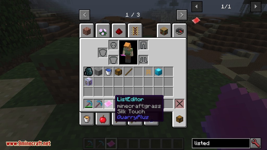 Additional Enchanted Miner Mod How to use 47