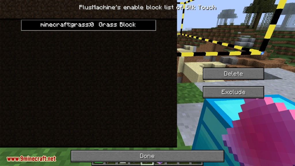 Additional Enchanted Miner Mod How to use 48