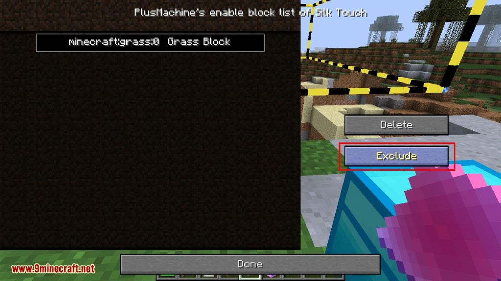 Additional Enchanted Miner Mod How to use 49
