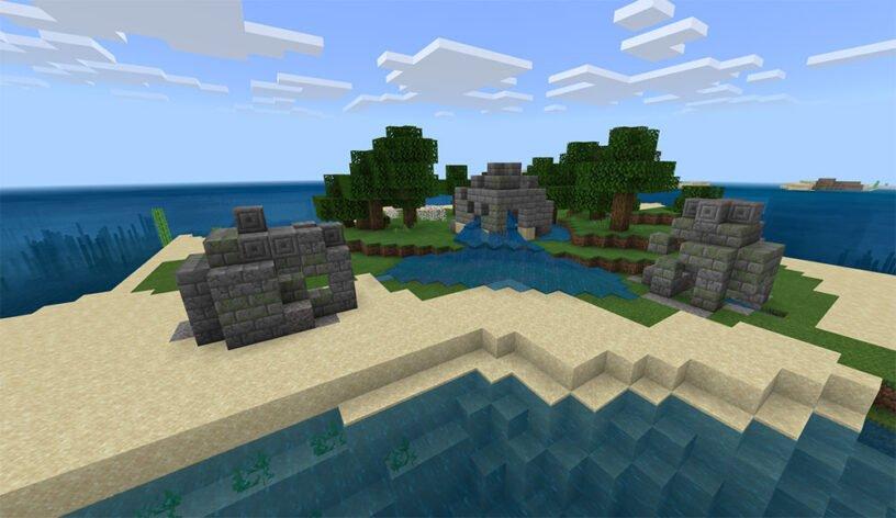 Three Ruin Island Seed