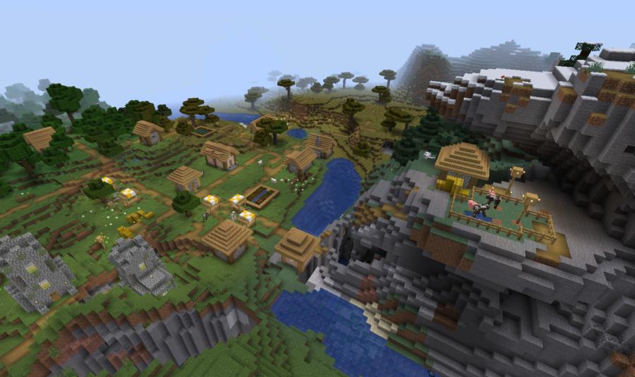 Top 10+ best Minecraft Village Seeds All Platforms & Versions