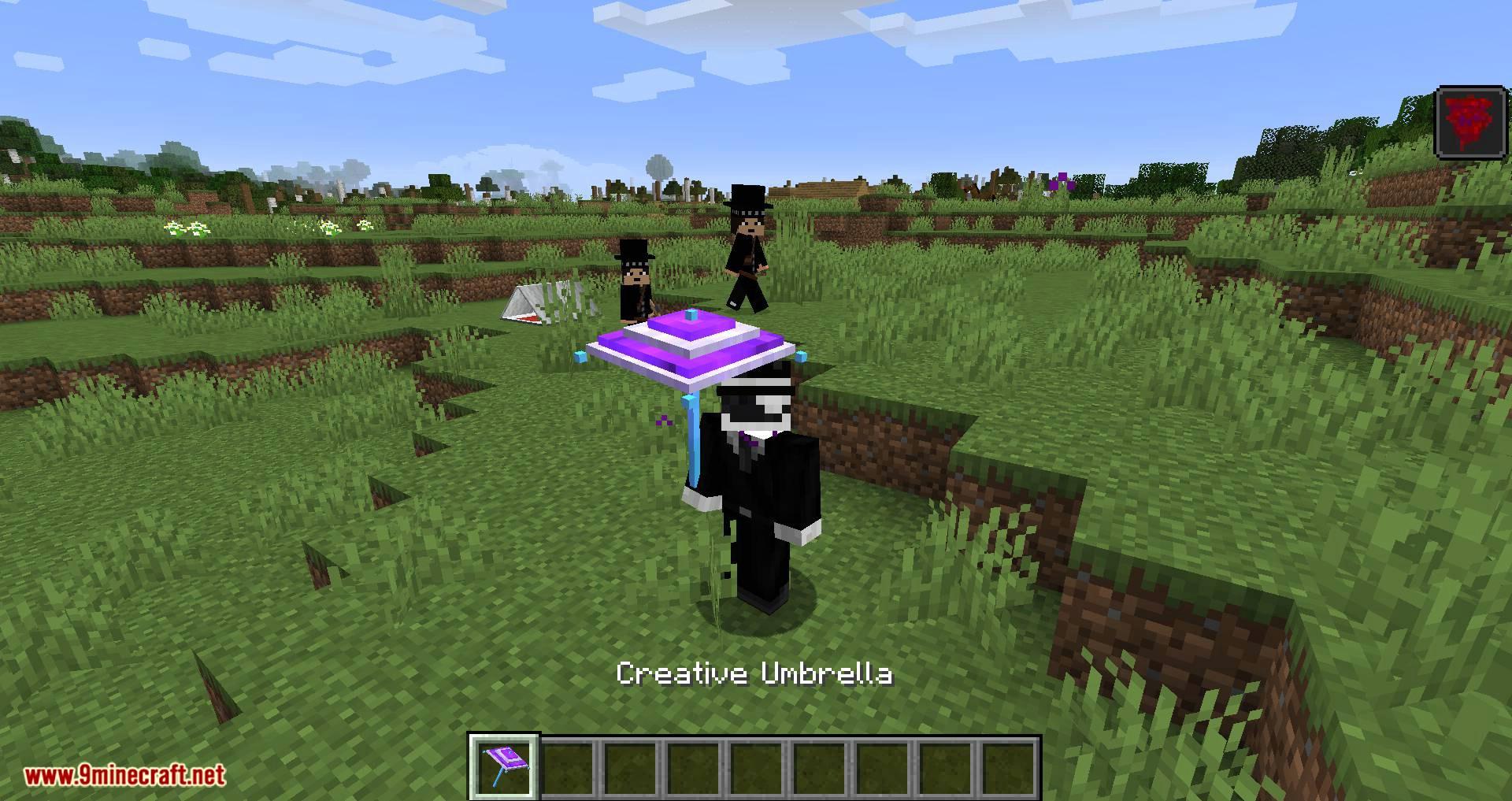 Vampires Need Umbrellas mod for minecraft 10