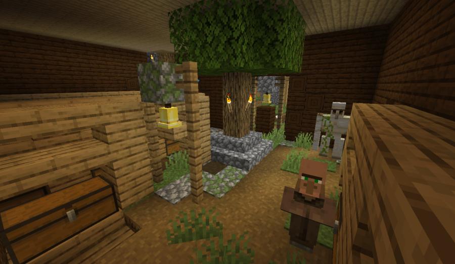 Village Spawns Inside Mansion - Top 8 Minecraft Woodland Mansion Seeds 1.16 – All Platforms