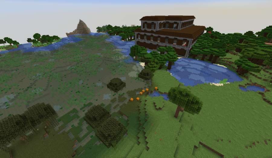 Mansion Right Next to Spawn