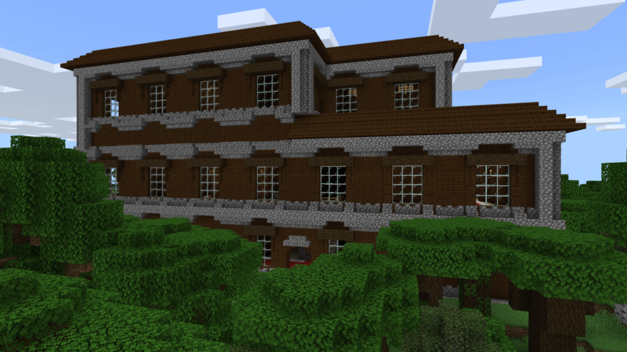 Multiple Villages and a Mansion Near Spawn (Bedrock)