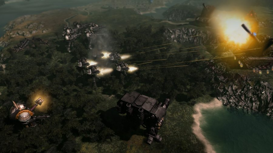 Warhammer 40,000: Gladius – Relics of War - Top 9 best 4X strategy games to play on PC in 2021