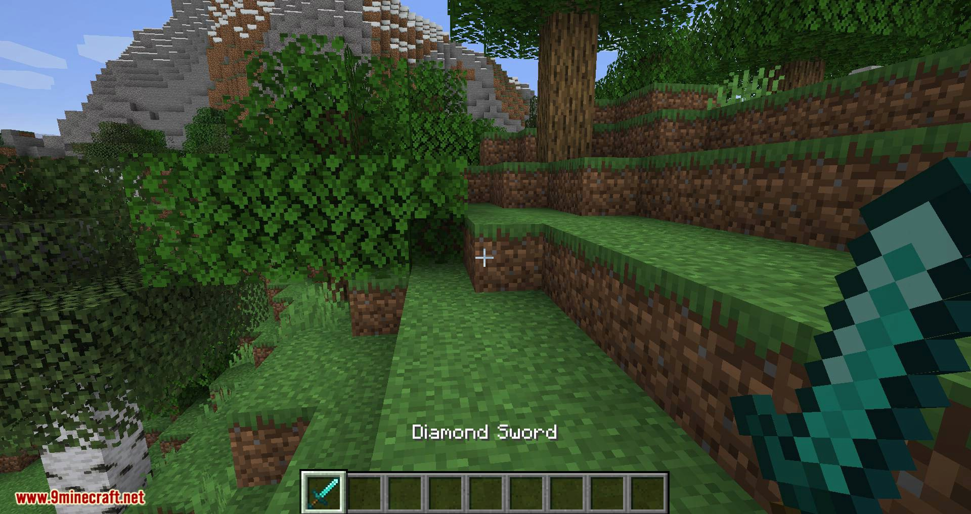 Better Dropped Items mod for minecraft 01