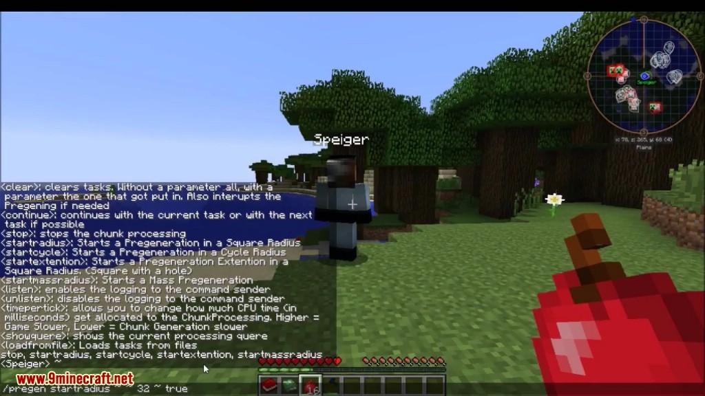 Chunk Pregenerator Mod Screenshots 1