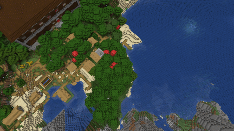 A Village, a Mansion, and a Monument Walk Into a Bar - Top 10 Best Minecraft Woodland Mansion Seeds for 1.16 (Java & Bedrock)