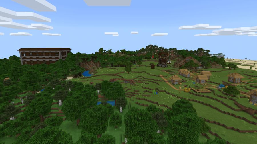 The Pillager Challenge - Top 5 Best Minecraft 1.16.5 Bedrock Seeds (Windows 10, Nintendo, Xbox)