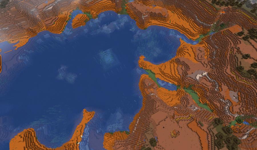 The Badlands Monument - Top 5 Best Minecraft 1.16.5 Java Seeds | Java Seeds 1.16.5 for Minecraft