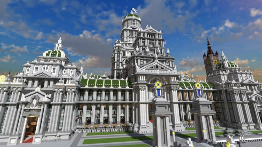 Imperial City - Top 8 best Minecraft city maps   Most Popular Minecraft Maps