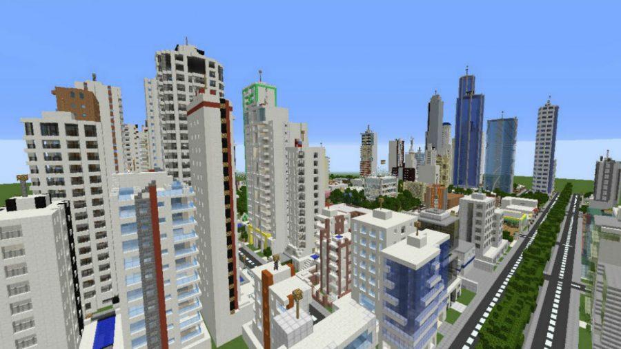 Sun City - Top 8 best Minecraft city maps   Most Popular Minecraft Maps