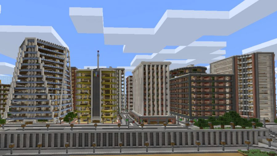 Tazader City - Top 8 best Minecraft city maps   Most Popular Minecraft Maps