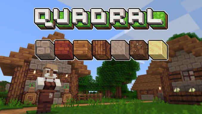 Quadral - 16x - 5 Best Minecraft Fantasy Resource Packs 1.16.5   Minecraft texture packs