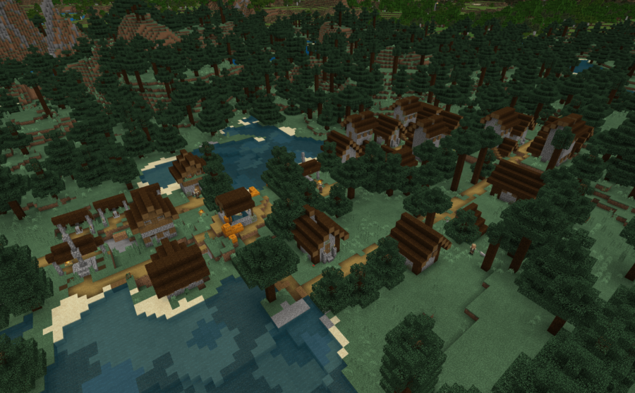 Smithtown 2.5 - Top 8 Best Bedrock Seeds 1.16 and 1.17 for Minecraft (May 2021)