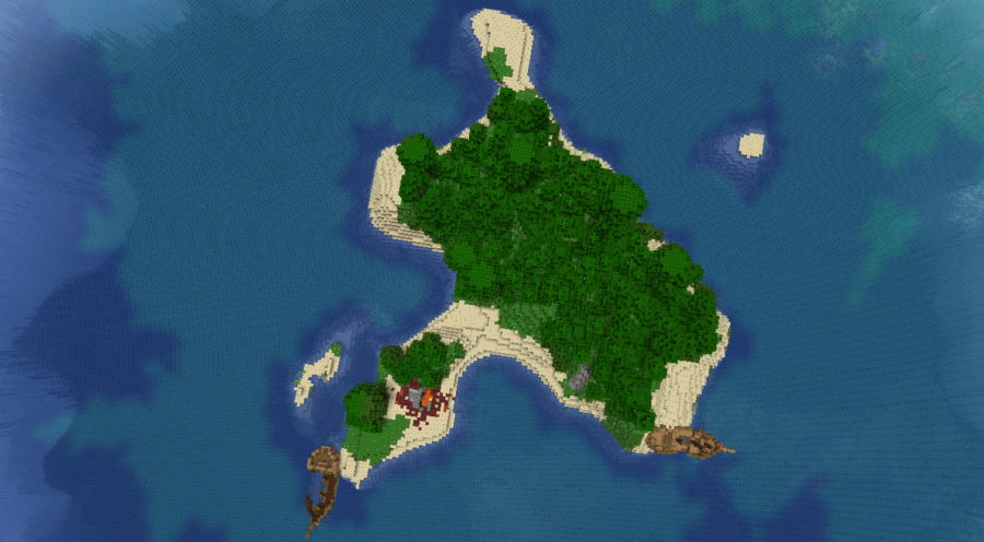 Shipwreck Cove - Top 10 Best Java Seeds 1.16 and 1.17 for Minecraft (May 2021)